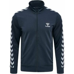 vaatteet Miehet Ulkoilutakki Hummel Veste Zip  Nathan 2.0 bleu marine/blanc