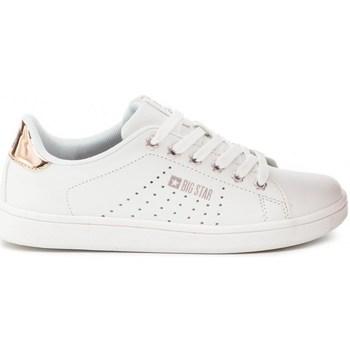 kengät Naiset Matalavartiset tennarit Big Star DD274583 Valkoiset