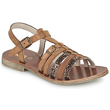 kengät Tytöt Sandaalit ja avokkaat GBB BANGKOK Ruskea