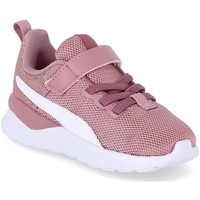 kengät Tytöt Matalavartiset tennarit Puma Anzarun Lite Vaaleanpunaiset