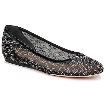 kengät Naiset Balleriinat Sebastian GLIME Black
