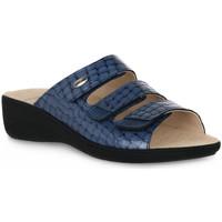 kengät Naiset Sandaalit Grunland JEANS 68ESTA Blu