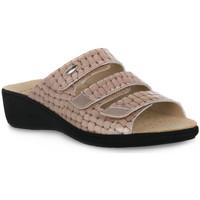 kengät Naiset Sandaalit Grunland TAUPE 68ESTA Marrone