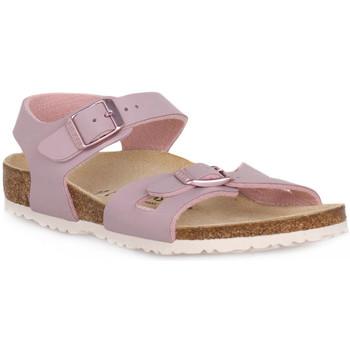 kengät Lapset Sandaalit ja avokkaat Birkenstock RIO LAVENDER BLUSH CALZ S Grigio