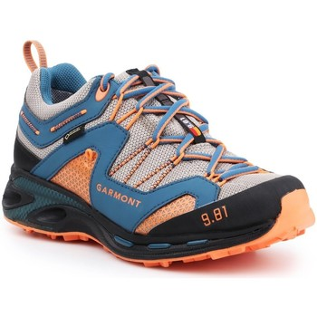 kengät Miehet Vaelluskengät Garmont 9.81 Trail Pro III GTX 481221-211 blue, orange, grey