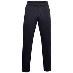 vaatteet Miehet Verryttelyhousut Under Armour Rival Fleece Pants Mustat