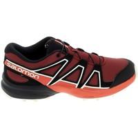 kengät Lapset Matalavartiset tennarit Salomon Speedcross K Rouge Noir Punainen