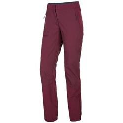 vaatteet Naiset Chino-housut / Porkkanahousut Salewa Puez Tummanpunainen