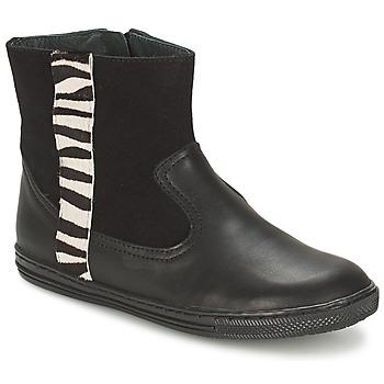 kengät Tytöt Bootsit Citrouille et Compagnie ELLIA Black