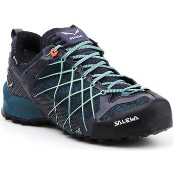 kengät Naiset Vaelluskengät Salewa Buty trekkingowe  Wildfire GTX 63488-3838 navy , blue, black