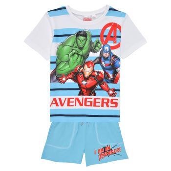 vaatteet Pojat Kokonaisuus TEAM HEROES  AVENGERS SET Monivärinen
