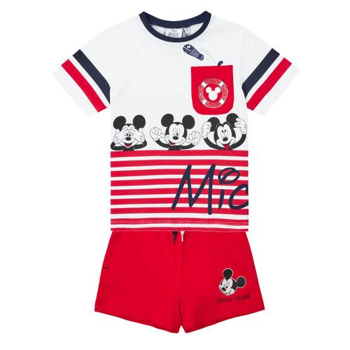 vaatteet Pojat Kokonaisuus TEAM HEROES  MICKEY SET Monivärinen