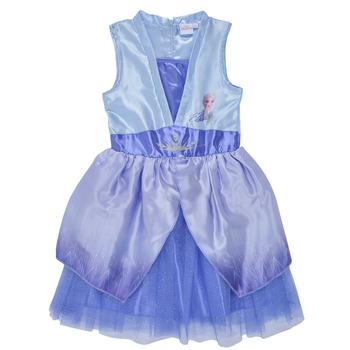 vaatteet Tytöt Lyhyt mekko TEAM HEROES  FROZEN DRESS Sininen