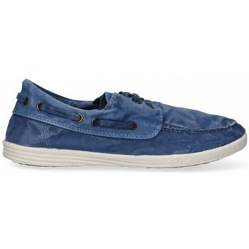 kengät Miehet Matalavartiset tennarit Natural World 55324 blue