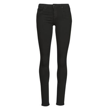 vaatteet Naiset Slim-farkut Only ONLCARMEN Musta