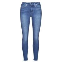 vaatteet Naiset Slim-farkut Only ONLBLUSH Sininen