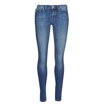 vaatteet Naiset Slim-farkut Only ONLSHAPE Sininen