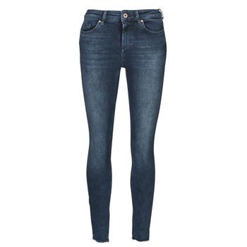 vaatteet Naiset Slim-farkut Only ONLBLUSH Sininen / Tumma