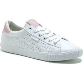 kengät Naiset Matalavartiset tennarit Big Star HH274073 Valkoiset