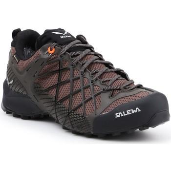 kengät Miehet Vaelluskengät Salewa MS Wildfire GTX 63487-7623 brown, black