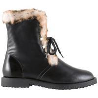 kengät Naiset Talvisaappaat Högl Cuddly Schwarz Boots Musta
