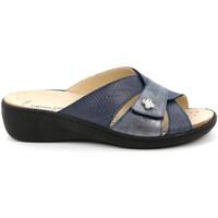 kengät Naiset Sandaalit Grunland CE0700 Sininen
