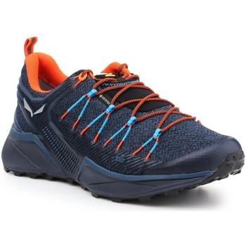 kengät Miehet Vaelluskengät Salewa MS Dropline GTX 61366-8669 navy , orange, black