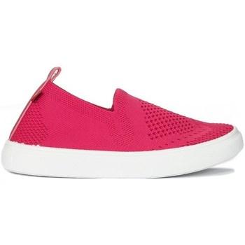 kengät Lapset Matalavartiset tennarit Big Star HH374102 Valkoiset, Vaaleanpunaiset
