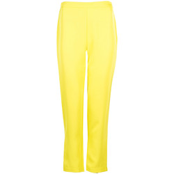 vaatteet Naiset Housut Pinko  Keltainen