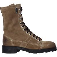 kengät Naiset Bootsit OXS OXW190201 Beige
