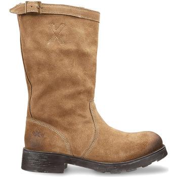 kengät Naiset Bootsit OXS OXW100503 Beige
