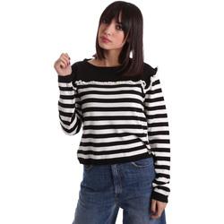 vaatteet Naiset Neulepusero Denny Rose 64DR15013 Musta