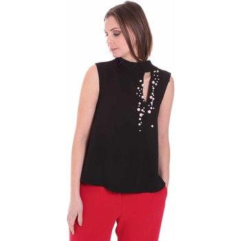 vaatteet Naiset Topit / Puserot Nenette 26BB-FERLY Musta
