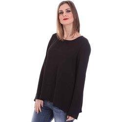 vaatteet Naiset Topit / Puserot Fracomina F120W19008W00401 Musta