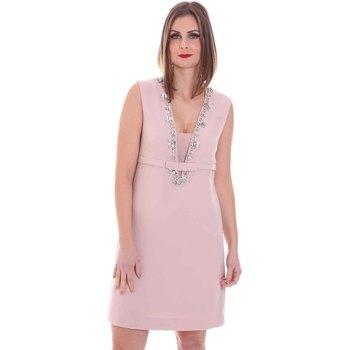 vaatteet Naiset Lyhyt mekko Nenette 26BB-AIRINA Vaaleanpunainen