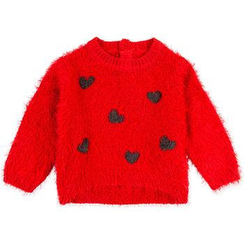 vaatteet Lapset Svetari Losan 028-5000AL Punainen