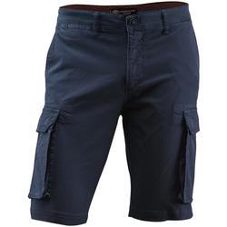 vaatteet Miehet Shortsit / Bermuda-shortsit Lumberjack CM80747 005 602 Sininen