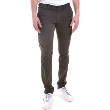 vaatteet Miehet Chino-housut / Porkkanahousut Gaudi 021GU25014 Vihreä