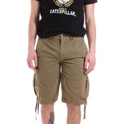 vaatteet Miehet Shortsit / Bermuda-shortsit Caterpillar 35CC2820928 Vihreä