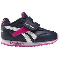 kengät Lapset Matalavartiset tennarit Reebok Sport Royal CL Jogger Valkoiset, Mustat, Vaaleanpunaiset