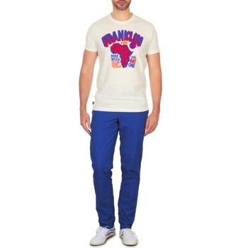 vaatteet Miehet Chino-housut / Porkkanahousut Franklin & Marshall GLADSTONE Blue