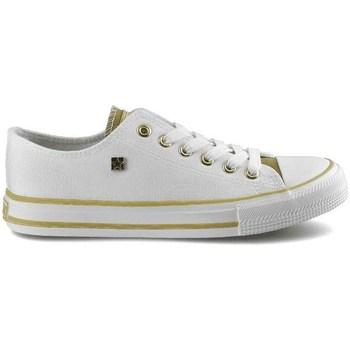 kengät Naiset Matalavartiset tennarit Big Star HH274458 Valkoiset