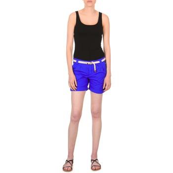 vaatteet Naiset Shortsit / Bermuda-shortsit Franklin & Marshall CALOUNDRA Blue