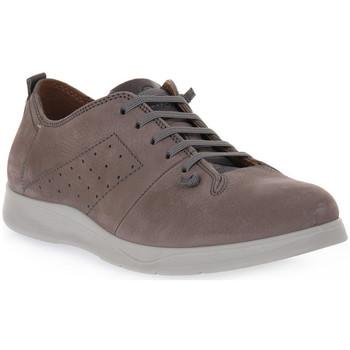 kengät Miehet Derby-kengät Grunland GRIGIO MICO Grigio