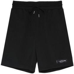 vaatteet Miehet Shortsit / Bermuda-shortsit Sixth June Short  Mesh Logo noir