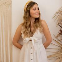 vaatteet Naiset Pitkä mekko Céleste CAMOMILLE Valkoinen