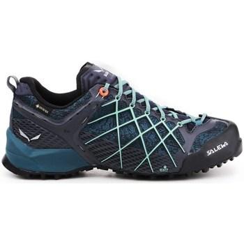 kengät Naiset Derby-kengät & Herrainkengät Salewa Wildfire Gtx Mustat