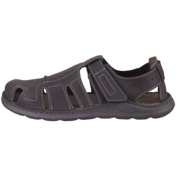 kengät Miehet Urheilusandaalit Josef Seibel Maverick 01 Mustat