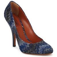 kengät Naiset Korkokengät Missoni VM005 Blue
