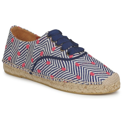 kengät Naiset Espadrillot Missoni VM045 Blue / Pink